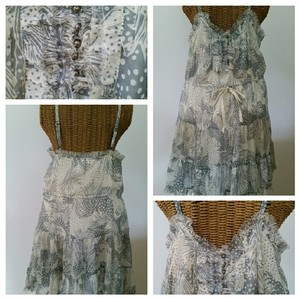Urban Outfitters short dress Ruffles Tiered Buttons Belted on Tradesy