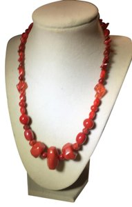 Anna's Art Gorgeous Handmade Coral Necklace