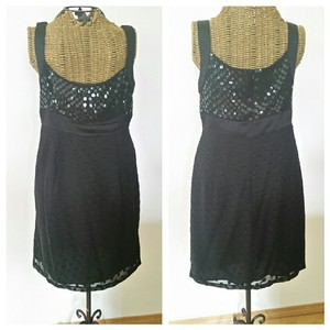 Nanette Lepore Embellished Sparkle Little Bling Dress