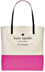 Kate Spade Tote in NATURAL PINK