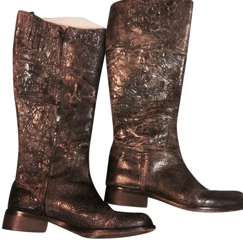 117b599e61e Steven by Steve Madden Brown Reins - Distressed Leather Boots/Booties Size  US 7.5 Regular (M, B) 65% off retail