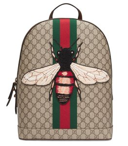 Gucci Canvas Backpack
