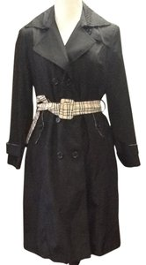Other Plaid Designer Inspired Trench Coat