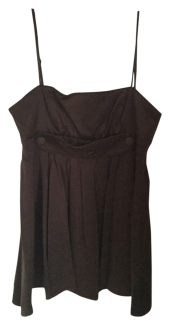 Preload https://img-static.tradesy.com/item/2101765/bcbgeneration-brown-silk-buttons-pleated-spaghetti-straps-empire-waist-tank-topcami-size-6-s-0-0-650-650.jpg