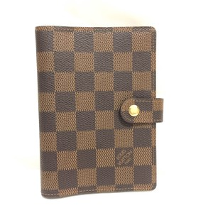 Louis Vuitton K310 MINT Condition Diary Cover Agenda PM Browns Damier
