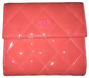 Chanel Patent Leather French Wallet