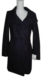 Tahari Tweed Pea Coat