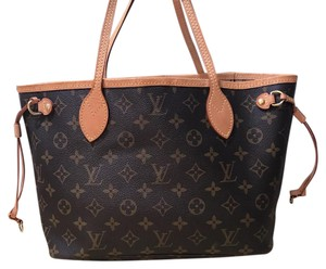 Louis Vuitton Tote in traditional brown LV Monogram