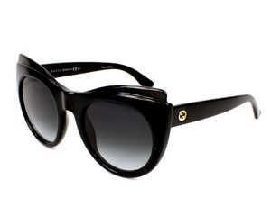 Gucci NEW GUCCI GG3781S Cat Eye BLACK SUNGLASSES, MADE IN ITALY, GG