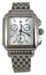 Michele Michele Deco Diamond Dial Stainless steel Women's Watch
