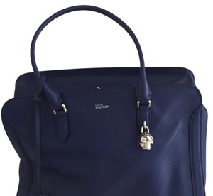 Alexander McQueen Satchel in navy