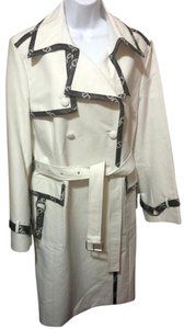 Tommy Hilfiger (NEW) Insignia Silver Hardware Trench Coat