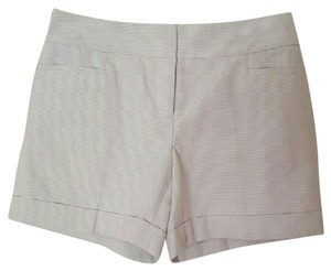 The Limited Striped Cassidy Fit Dress Shorts Tan,White