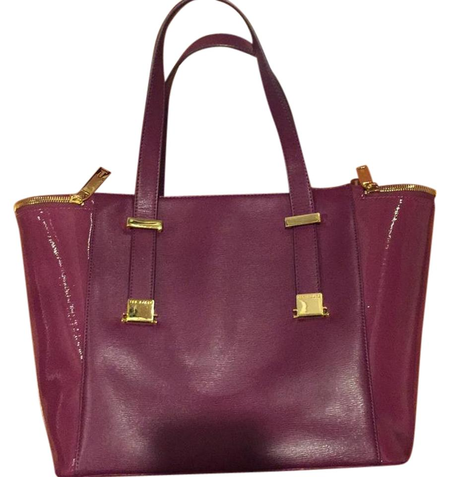 78989eabe Ted Baker Satchel Purple Tote - Tradesy