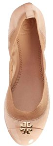 Tory Burch Light Oak Nude Flats
