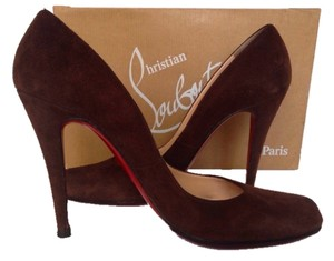 Christian Louboutin Chocolate Brown Pumps