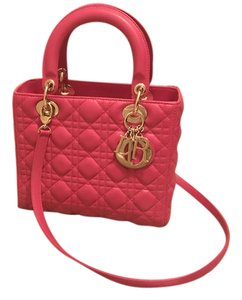 Dior Tote in Hot Pink