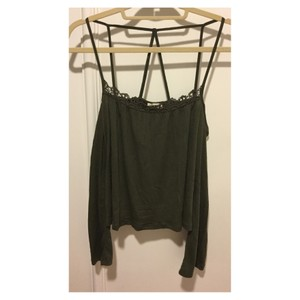 LA Hearts Top Olive Green