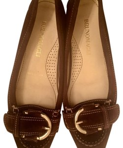 Bruno Magli Made In Italy brown Flats