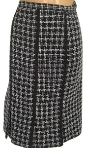 Grace Elements Skirt Gray & Black