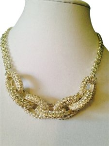 Judith Jack Silver Crystal Necklace
