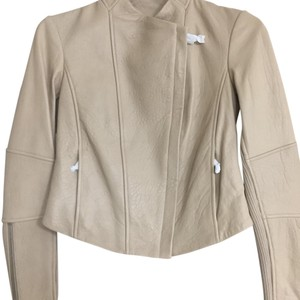 Vince beige Leather Jacket