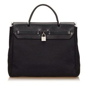 Hermès 6lhehb003 Satchel in Black
