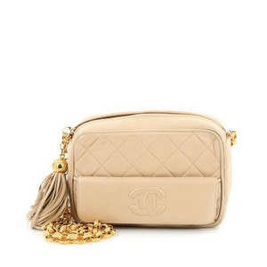 Chanel Vintage Camera Leather Shoulder Bag