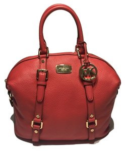 Michael Kors Bedford Pink Womens Satchel in Watermelon