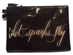 Kate Spade Kate Spade Let Sparks Fly Georgie Case Patent Clutch iPad Case PWRU330