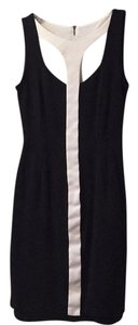 BCBGMAXAZRIA short dress black/comb on Tradesy