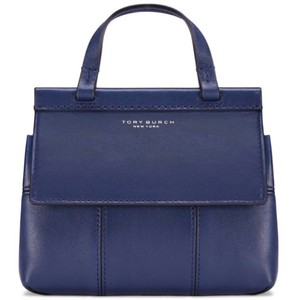Tory Burch Satchel in Royal Navy