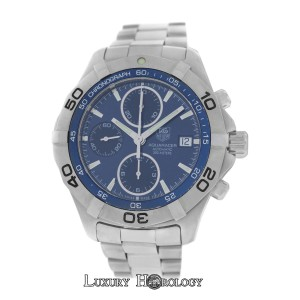 TAG Heuer Men's Tag Heuer Aquaracer CAF2112 Chrono Steel 300M Automatic 41MM