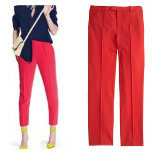J.Crew Trouser Pants red