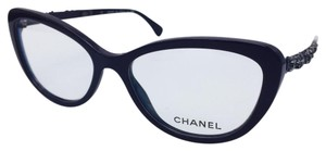 Chanel Chanel Cat Eye Burgundy Bijou Blooming Eyeglasses 3345 c.1461 54