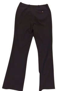 Calvin Klein Work Straight Pants Black