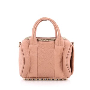 Alexander Wang Leather Satchel in Light pink