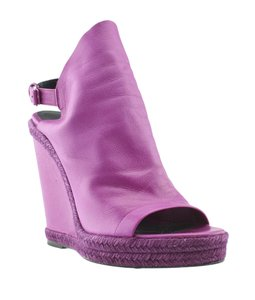 Balenciaga Sandals Purple Wedges