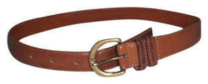 Coach British Tan Brown Small American Made Leather Belt