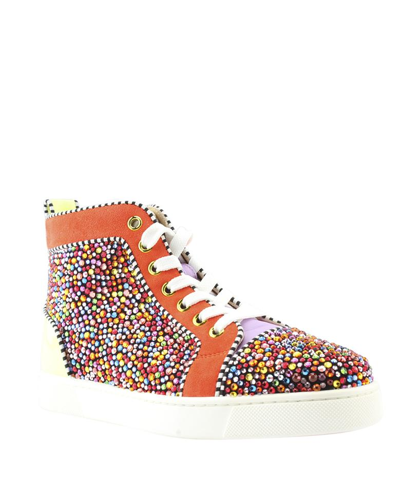 more photos 24793 47247 Christian Louboutin Multi-color Louis Strass 36 (118847) Sneakers Size US 6