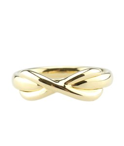 Tiffany & Co. Tiffany & Co. 18K Infinity Ring, Size 4.5 (118236)