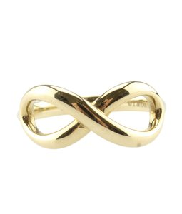 Tiffany & Co. Tiffany & Co. 18K Infinity Ring, Size 4 (118234)