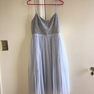 BHLDN Sky Blue Bhldn Needle And Thread Coppelia Dress Dress