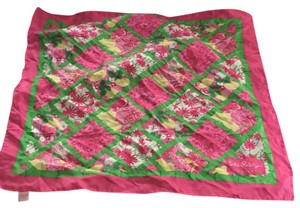 Lilly Pulitzer lily Pulitzer silk scarf jubilee