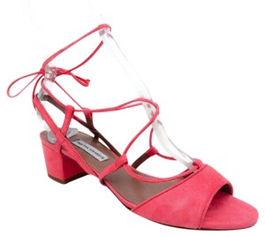 Tabitha Simmons raspberry Sandals