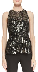 Lela Rose Tibi Zimmermann Alice Olivia Tory Burch Top Black