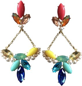 Lulu Frost statement earrings