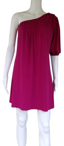 Gianni Bini One Sleeve Mini Slinky One Dress