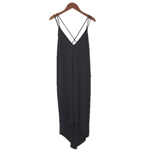 NAVY Maxi Dress by Lush Polyester Spring Summer Maxi Strappy