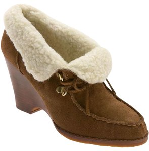 Michael Kors Suede Classic Brown Boots